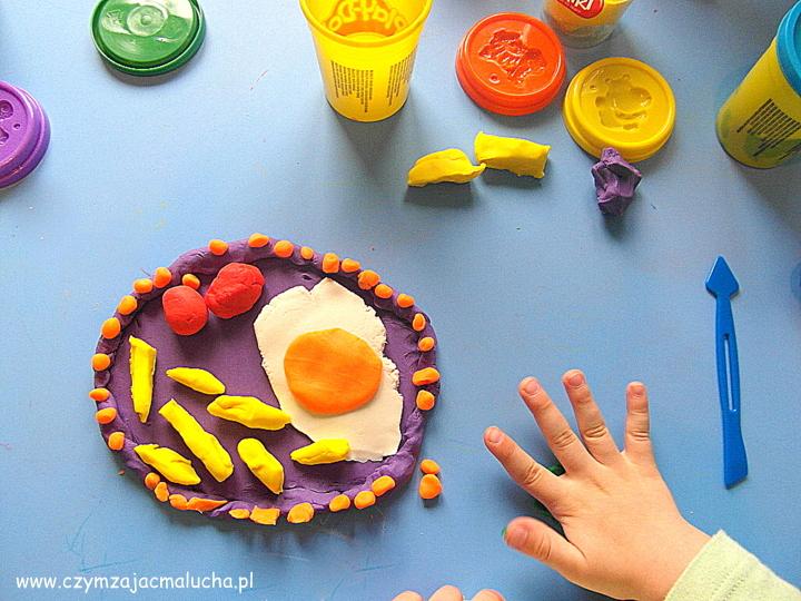 jak zrobić obiad z ciastoliny
