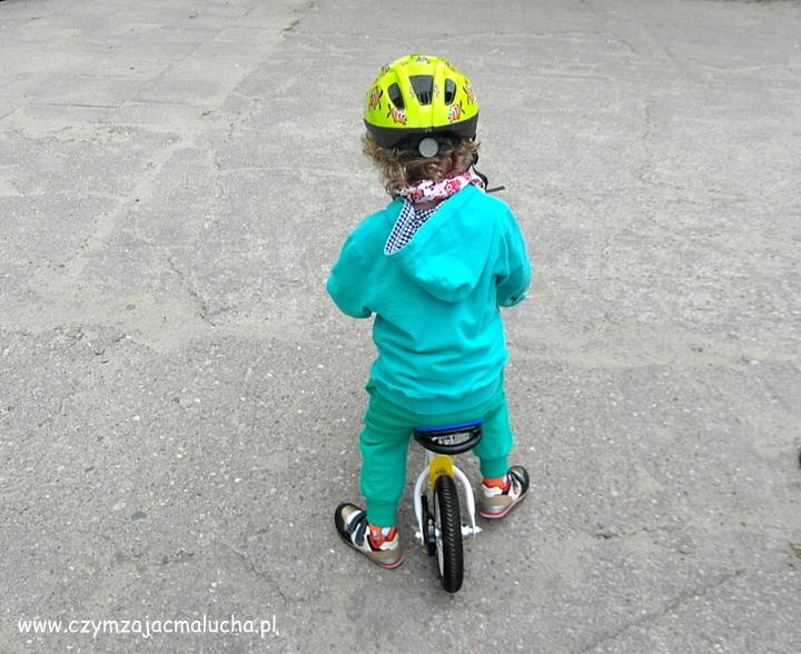 lekki rowerek biegowy