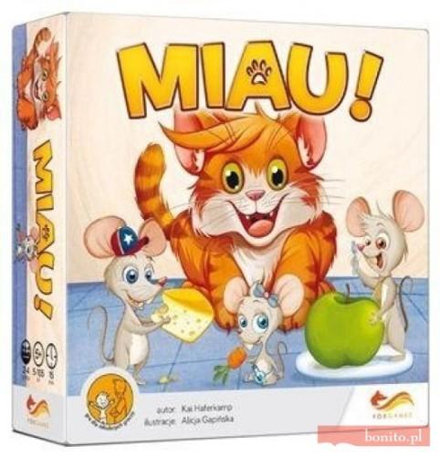 gra dla dzieci miau