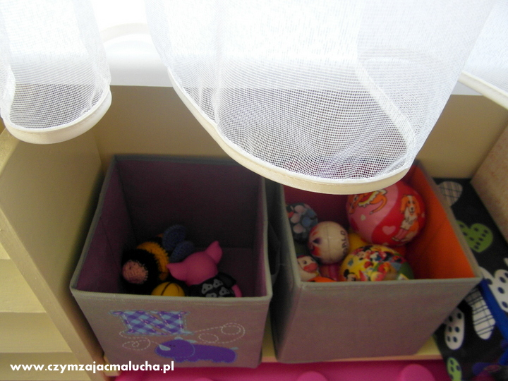 przechowywanie drobnych zabawek