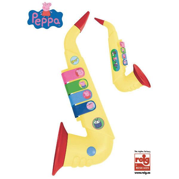 saksofon dla dzieci peppa