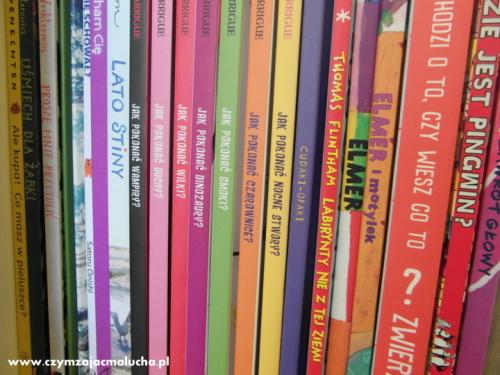 biblioteczka dla dziecka