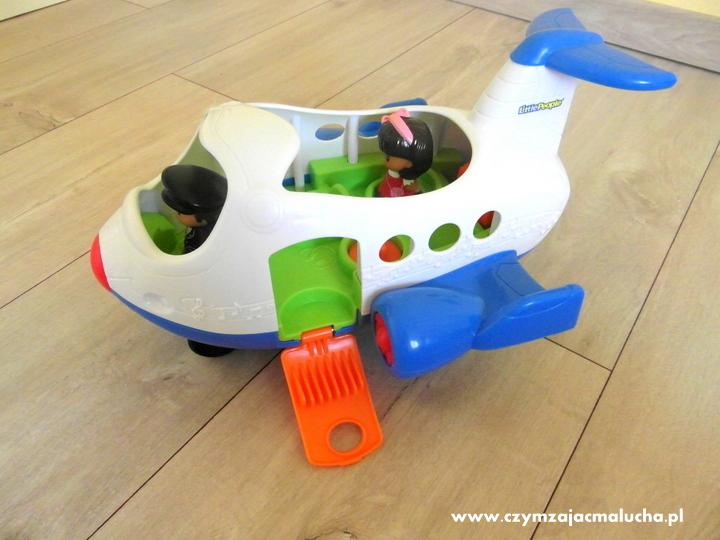 samolot z dźwiękami