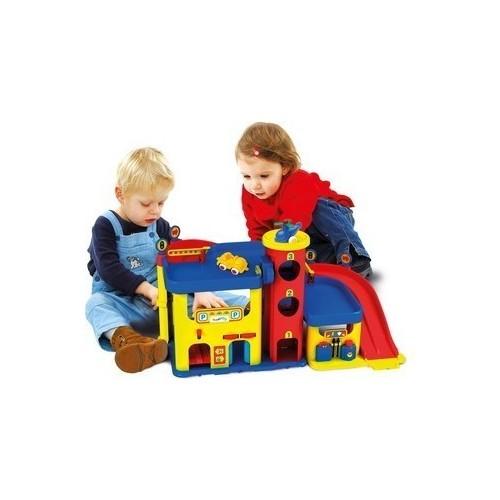 garaż dla dzieci z dźwiekami
