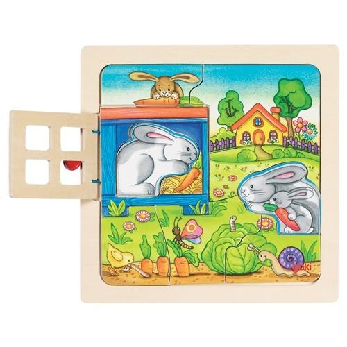 tanie puzzle drewniane