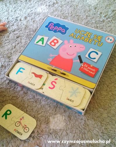 alfabet z peppą