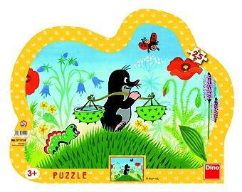 puzzle z krecikiem