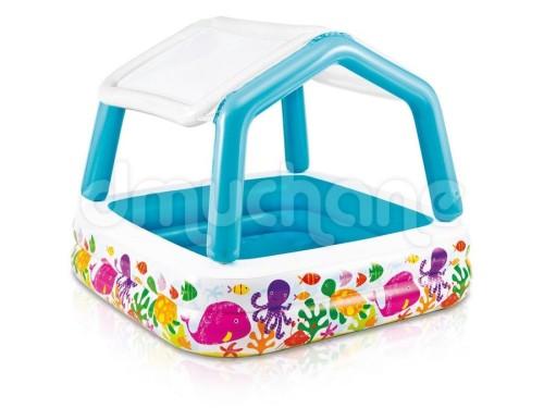 basen dla dzieci z daszkiem