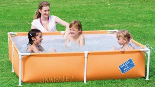 basen ze stelażem