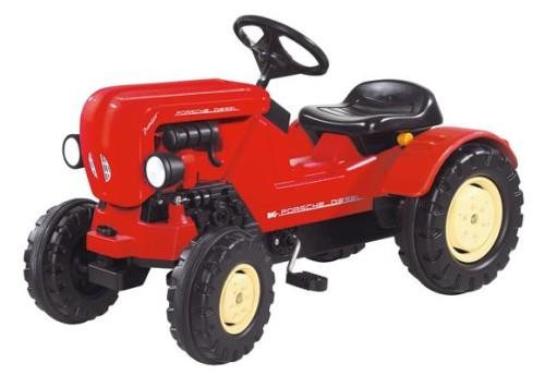 czerwony traktor dla dzieci