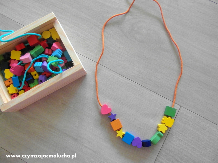 jak zrobić naszyjnik dla dzieci