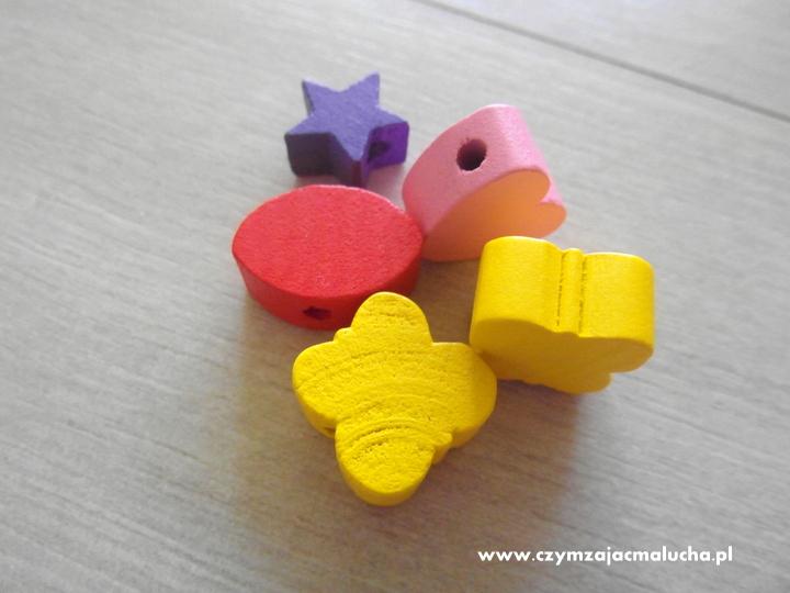 zestaw koralików dla dzieci