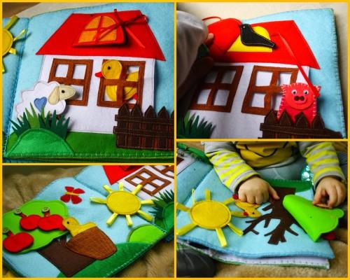 prezent na roczek handmade