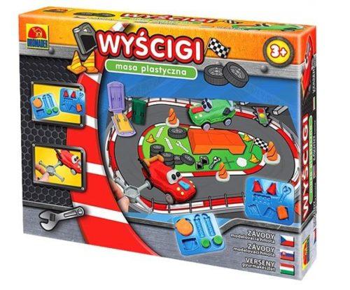masa plastyczna wyścigi samochodowe