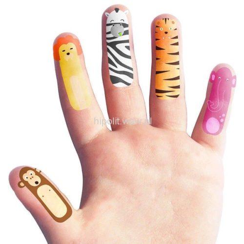 tatuaże na palce