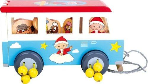 autobus drewniany