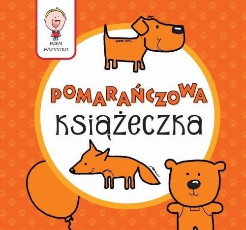 pomarańczowa książeczka