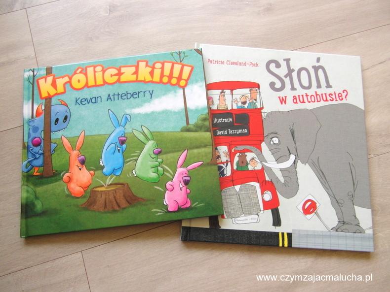 króliczki i słoń w autobusie