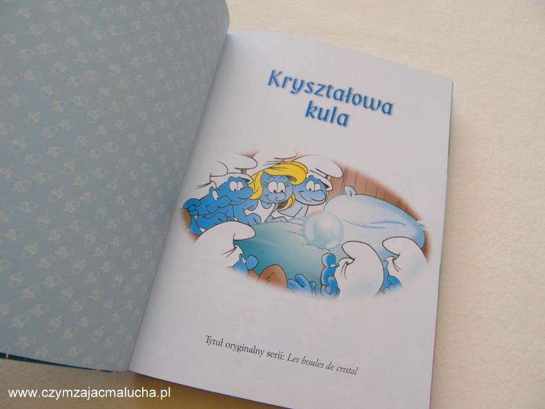 smerfy książka