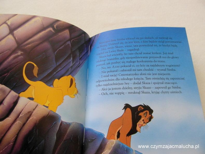 król lew książka 2