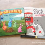 650. Króliczki!!! i Słoń w autobusie – ciekawe książki dla dzieci.