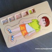 515. Puzzle anatomiczne – chłopiec lub dziewczynka.