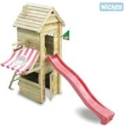 510. Piaskownice, zestawy i inne wyposażenie na domowym placu zabaw.