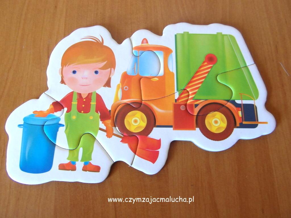 puzzle dla małych chłopców