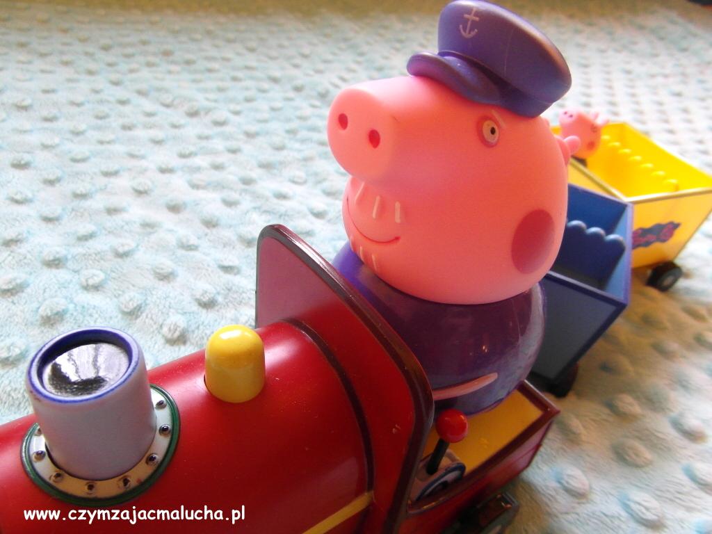 pociąg peppa