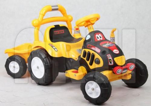 traktorek_zolty