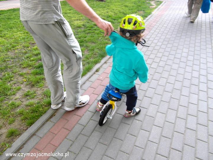 pierwszy rowerek biegowy