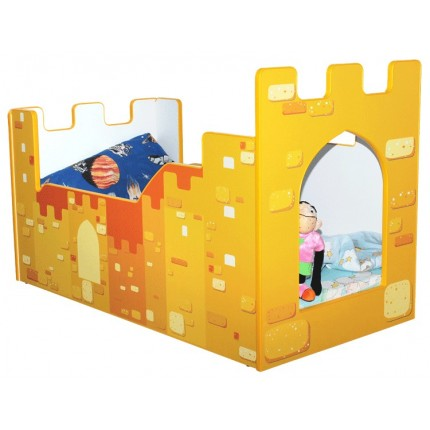 łóżko dla chłopca zamek