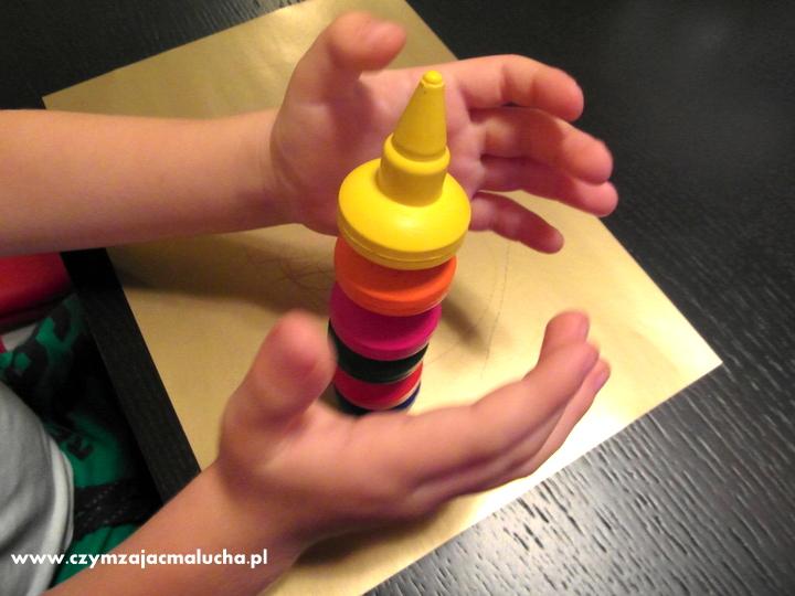 kredki woskowe dla dzieci