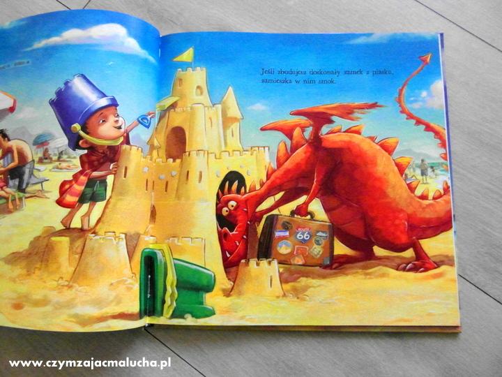 książka dla dzieci o smokach