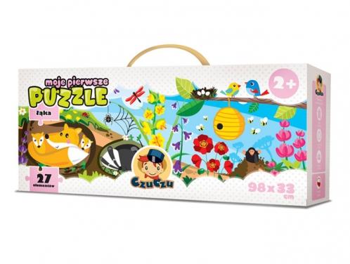 puzzle łąka