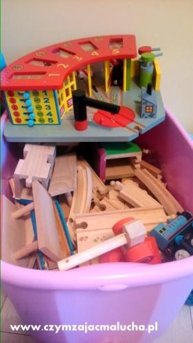 jak przechowywać tory drewniane
