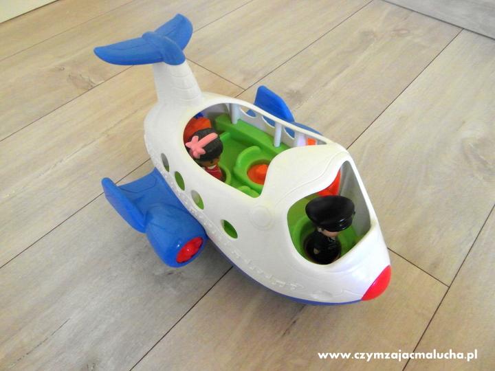 samolot little people fisher-price