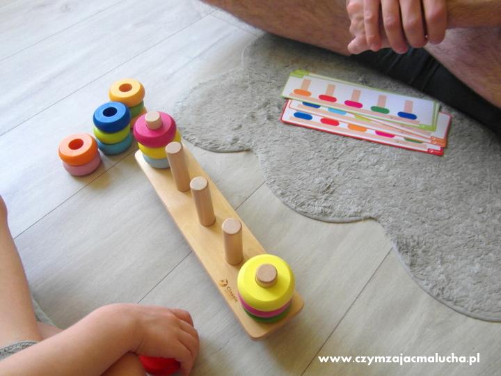 jak uczyć dziecko kolorów