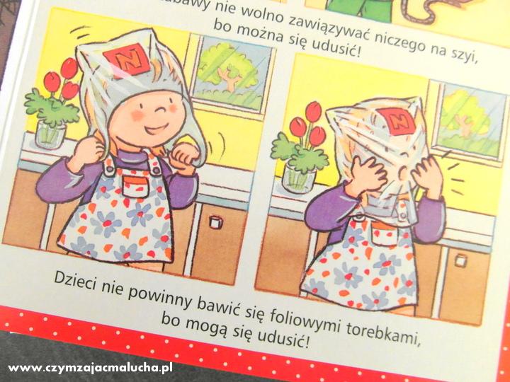 książka dla dzieci o bezpieczeństwie