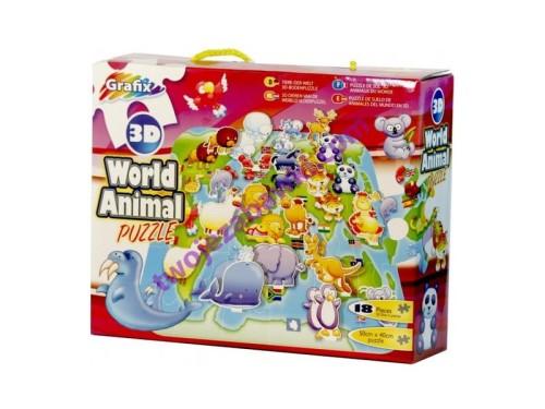 puzzle dla dzieci świat