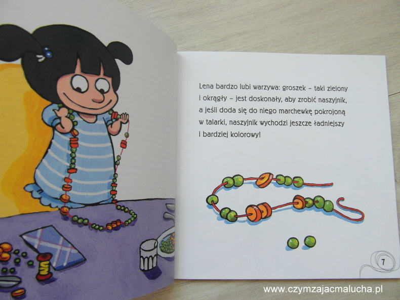książka dla dzieci o warzywach