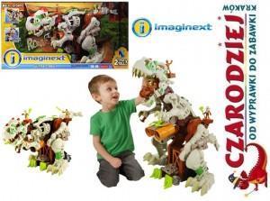 wielki interaktywny dinozaur