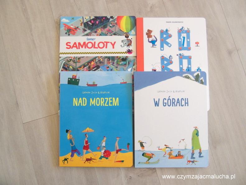 książki całokartonowe dla dzieci